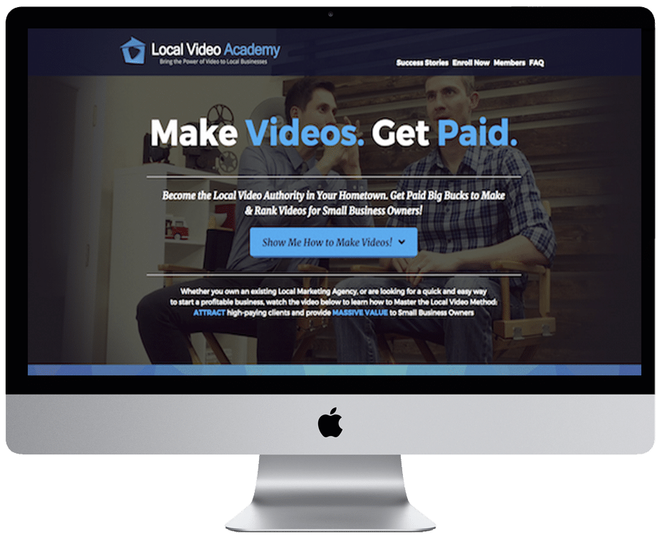 Local Video Academy/ James Wedmore