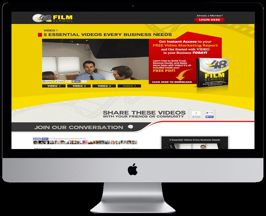 James Wedmore – 48hfilmschool video series
