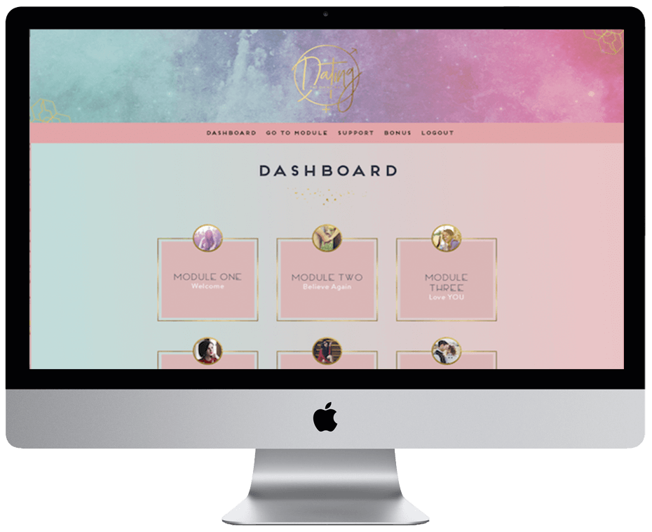 Dating The Divine Way – Online Course – AccessAlly + Ontraport