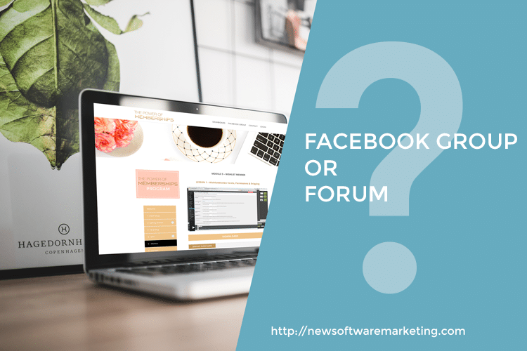 Facebook group or forum, What should you use?