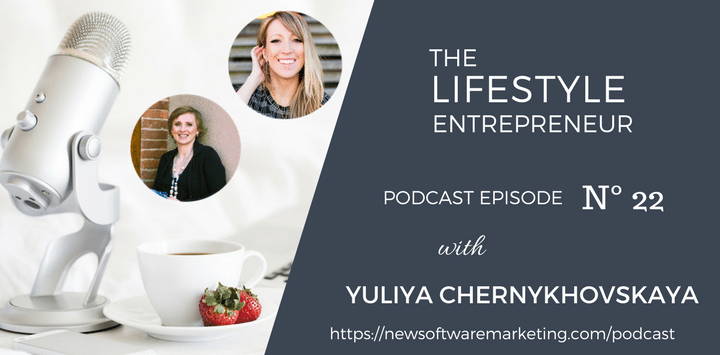 Podcast Interview – Yuliya Chernykhovskaya
