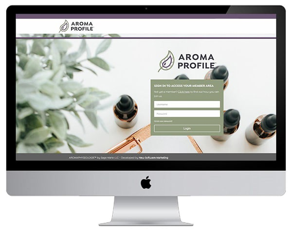 Aroma Profile ™ – AccessAlly  + Infusionsoft