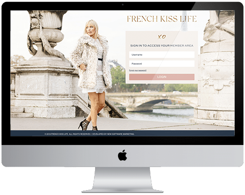 Tonya Leigh – AccessAlly + Infusionsoft  French Kiss Life Online Portal